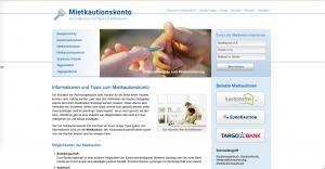 Über Mietkautionskonto.info